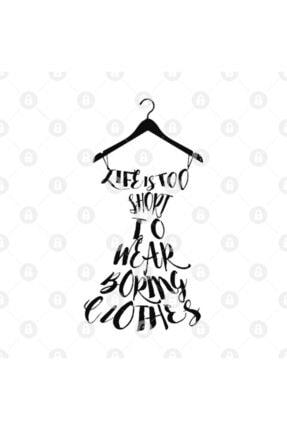 TatFast Life's Too Short To Wear Boring Clothes Kupa 2
