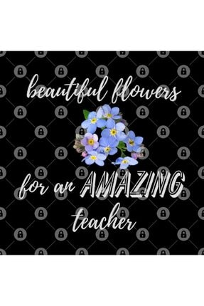 TatFast Beautiful Flowers For An Amazing Teacher - Forget Me Not Kupa 2