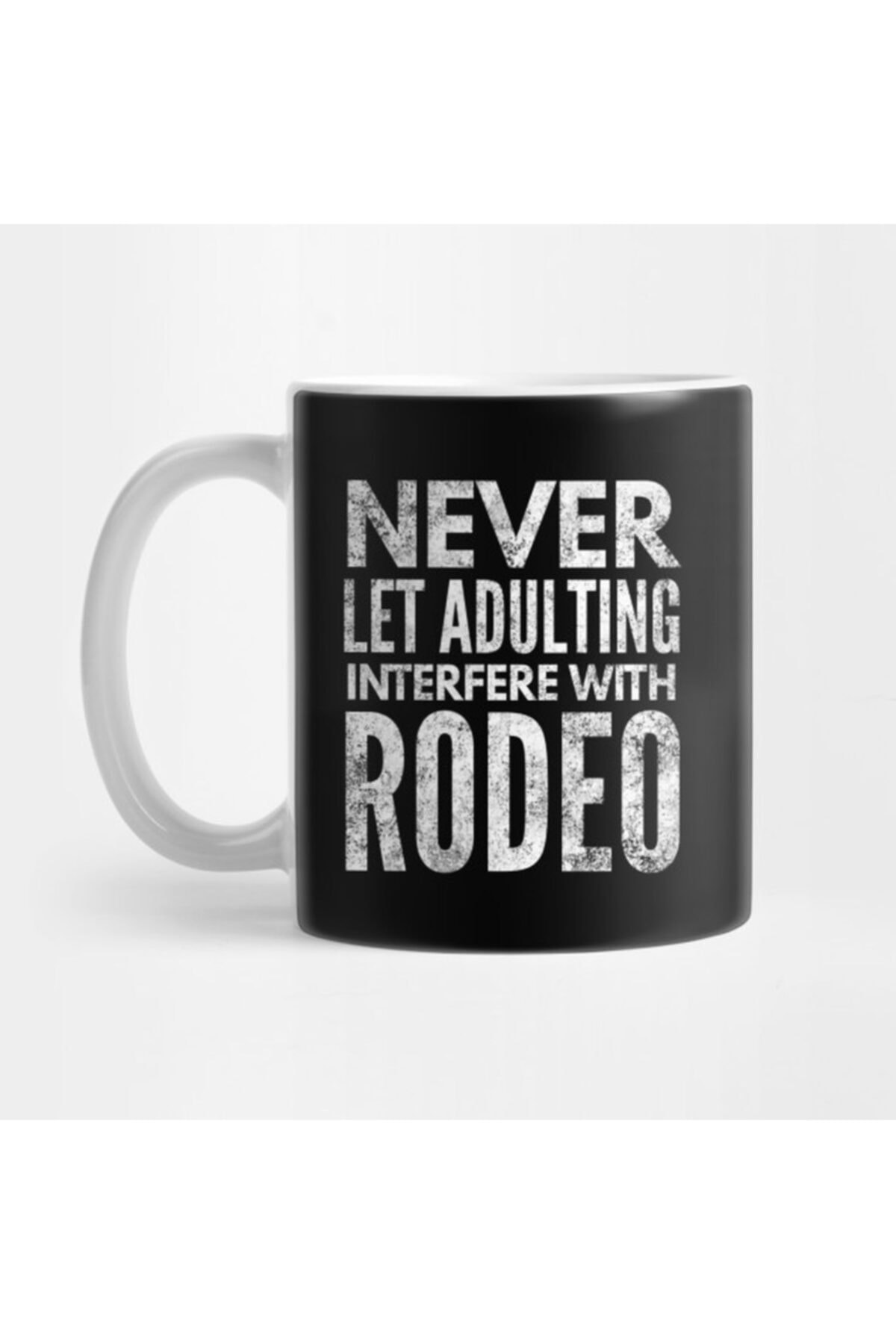 Adulting Rodeo Bull Riding Horses White Funny Rodeo Cowboy Kupa