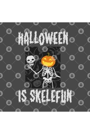 TatFast Halloween Is Skelefun - Pumpkin - Skeleton Halloween Kupa 2