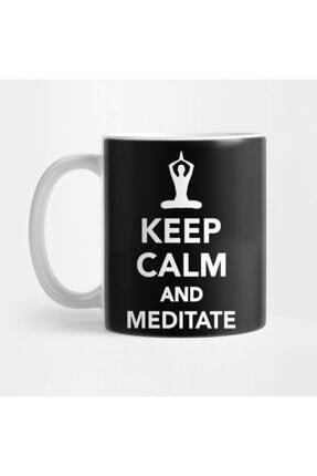 TatFast Keep Calm And Meditate Kupa 0