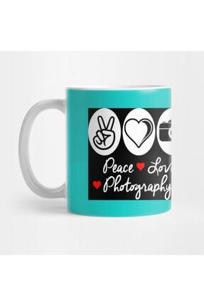 TatFast Peace Love Photography Kupa 0