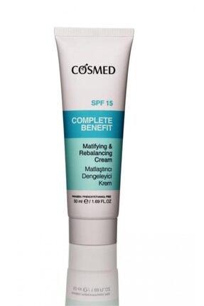 COSMED Complete Benefit Matlaştırıcı Dengeleyici Krem 50 Ml 0