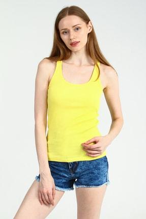 Collezione Kadın Sarı Atlet Folgard UCB480856A39 1