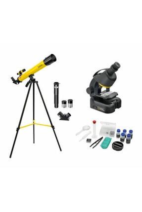 National Geographic Gelişmiş Teleskop Ve Mikroskop Seti 0