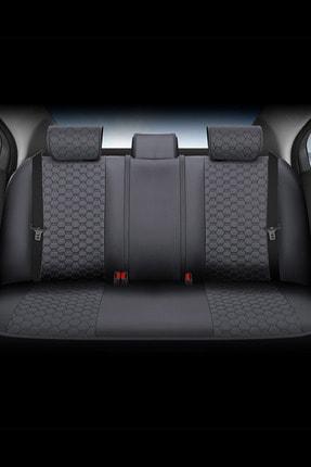 Deluxe Boss Ford Focus Uyumlu Deri Koltuk Kılıfı - Luxury Fit Diamond #dm15 2