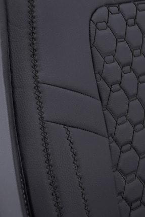 Deluxe Boss Ford Focus Uyumlu Deri Koltuk Kılıfı - Luxury Fit Diamond #dm15 4