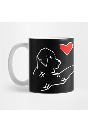 TatFast Together Dog Gift Team Animal Love Pet Present Kupa 0