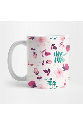 TatFast Flowers & Ferns Pattern Kupa 0