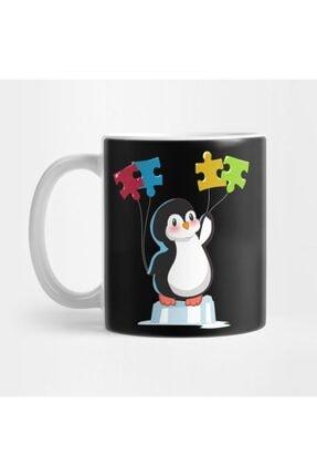 TatFast Cute Funny Penguin Autism Awareness Kupa 0