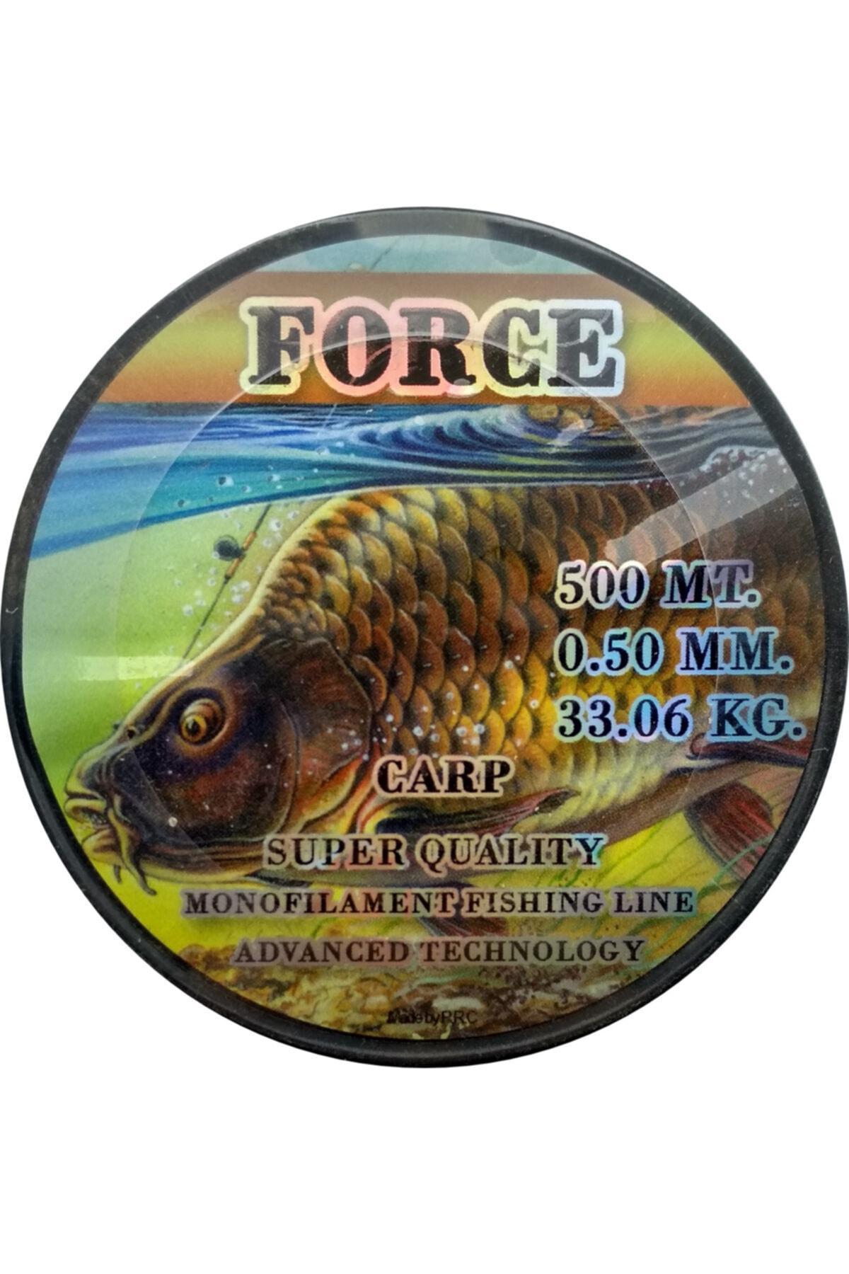 Force Sazan Yayın Misinası 500 Metre 0.50mm 33.06kg
