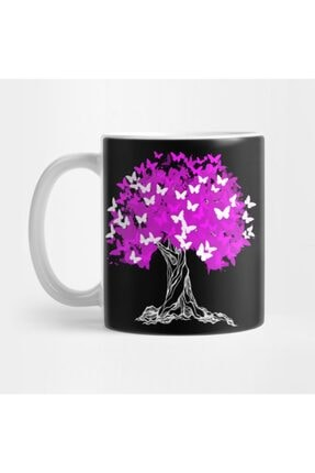 TatFast Tree With Pink Butterflies Kupa 0
