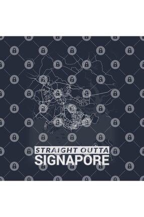 TatFast Straight Outta Signapore Signapore City Map Kupa 2