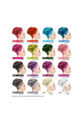 Jamaican Jean's Color Saç Boyası Gece Mavisi 2