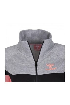 HUMMEL Kadın Gri Pembe Sweatshirt 2