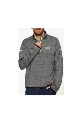 HUMMEL Erkek Gri Uzun Kollu Sweatshirt 0