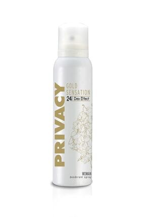 Privacy Kadın Deodorant Gold Sensation 150 ml 0