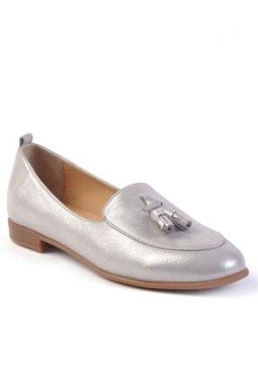 Burç Kadın Vizon Sim Hakiki Deri Ayakkabı 4010 0
