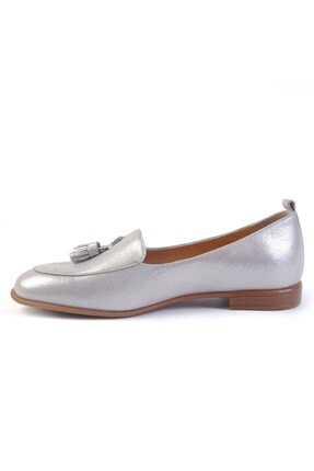 Burç Kadın Vizon Sim Hakiki Deri Ayakkabı 4010 1