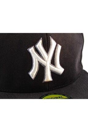 Takı Dükkanı NY Cap Hip Hop Şapka Siyah  Şapka 2