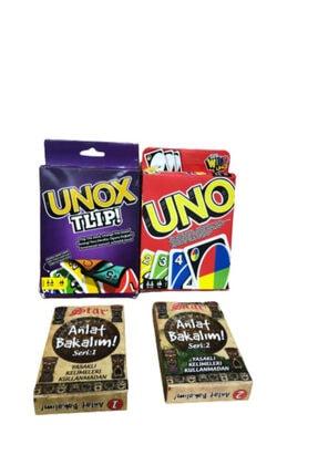 Medska Uno + Unox + Anlat Bakalım 1. Ve 2. Seri Set 4ü 1 Arada 1