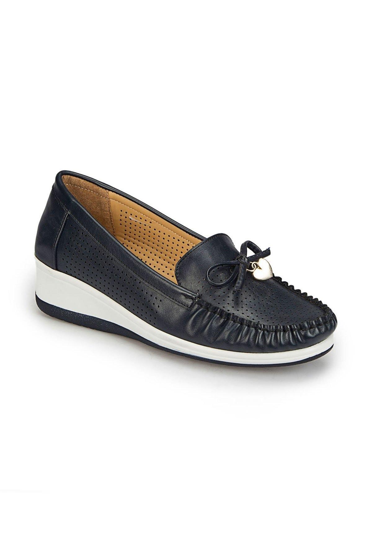 Polaris Kadın Siyah Günlük Ayakkabı