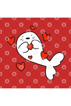 TatFast Baby Harp Seal Love Kupa 2