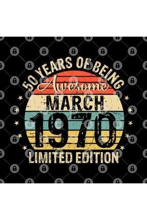 TatFast Born March 1970 Limited Edition Bday Gifts 50th Birthday Kupa 2