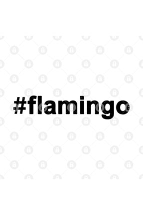 TatFast Flamingo | Clothes With Hashtags | Favorite Lettering | Motivational Words Kupa 2