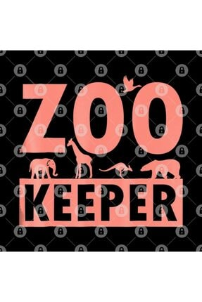 TatFast Zoo Keeper For Zoo Workers, Animal Lovers, Staff Kupa 2
