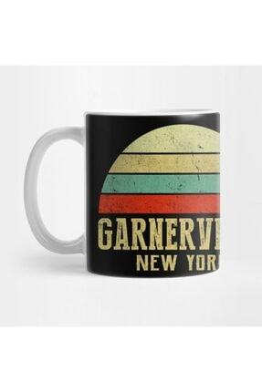 TatFast Garnervılle New York Vintage Retro Sunset Kupa 0