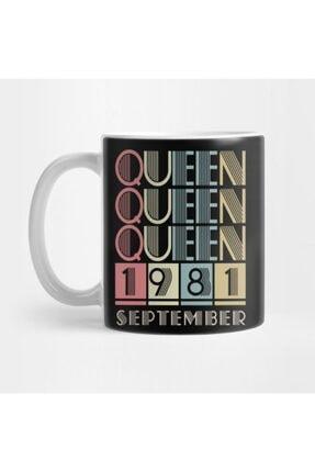 TatFast 1981 - Queen September Retro Vintage Birthday Kupa 0