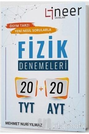 Lineer Yayınları 20 Tyt + 20 Ayt Fizik Denemeleri 0