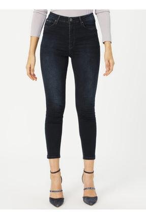 Loft Lf2025593 Kadın Natalıe Sara Blue Black Wash W Denim Pantolon 20k 1