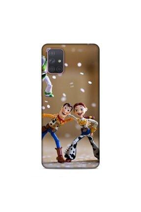 Pickcase Samsung Galaxy A71 Kılıf Desenli Arka Kapak Şerif Modyy 0