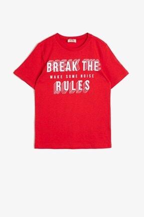 Koton Erkek Çocuk Kırmızı T-Shirt 0YKB16262OK 1