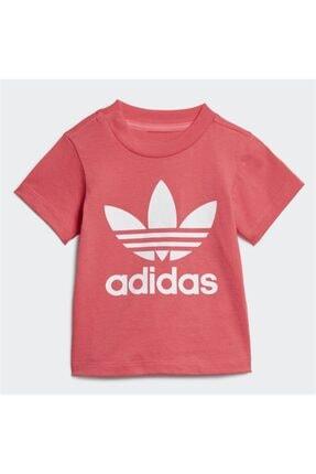 adidas Kız  Çocuk Pembe Tişört 0