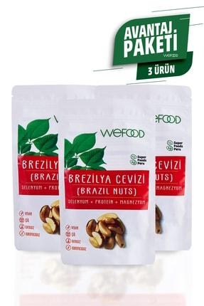 Wefood Brezilya Cevizi 80 gr - 3'lü 0