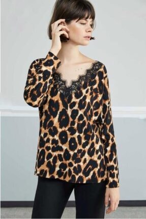 Nocturne Kadın Kahverengi Bluz 0