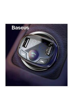 Baseus Orijinal Bluetooth Aktarım Mp3 Araç Kiti 2 Usb Çıkışlı Araç Şarjı, Araç Müzik Kiti Ve Şarjı 2