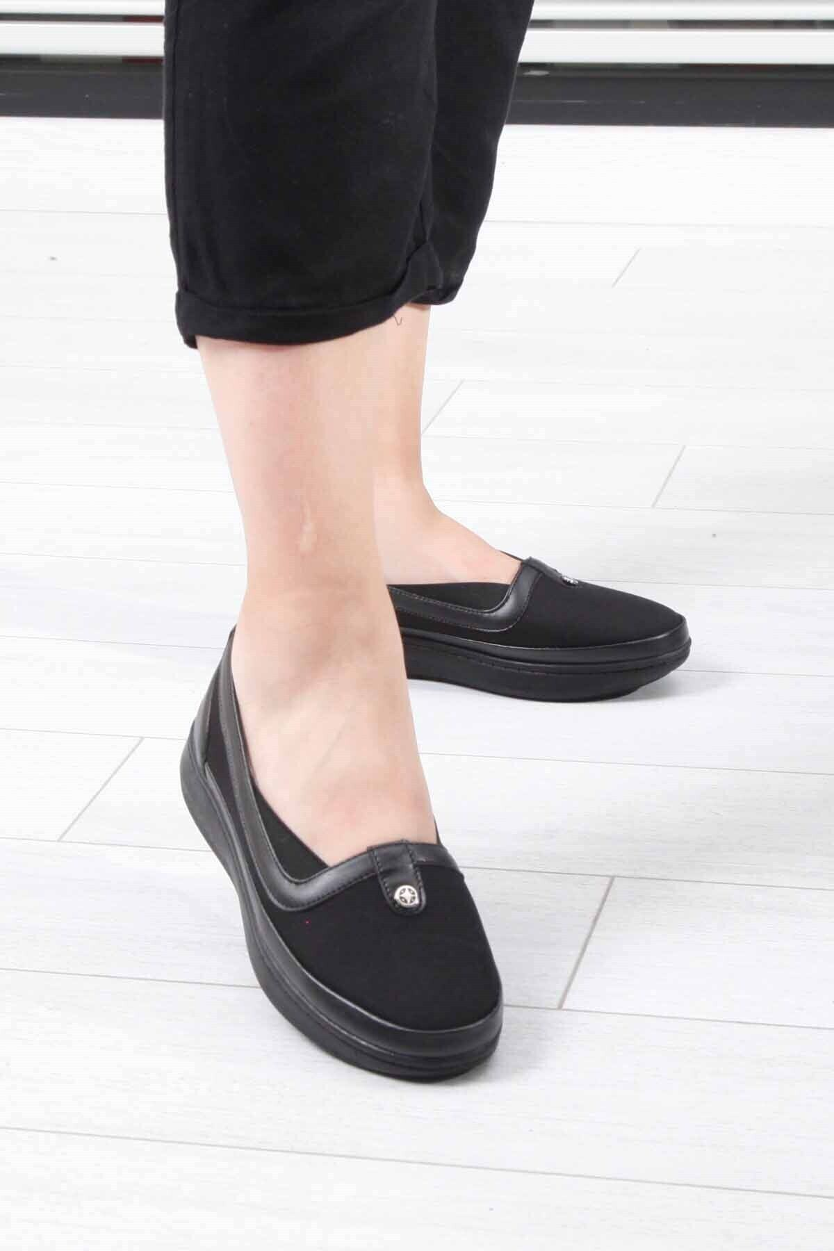 ALAMODE Cosmopolice Siyah Kadın Günlük Ayakkabı