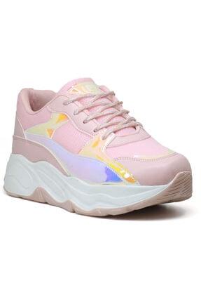 Pierre Cardin 30061 Yüksek Taban Kadın Spor Ayakkabı 0
