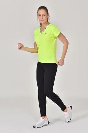 bilcee A.Yeşil Kadın T-Shirt GS-8029 4