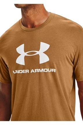 Under Armour Erkek Spor T-Shirt - Ua Sportstyle Logo Ss - 1329590-707 2