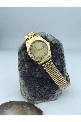 özdemir ticaret Kadin Saat Takvimli Çelik 0
