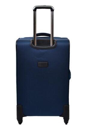US Polo Assn Unisex Lacivert  Valiz Orta Boy Kumaş Valiz 2