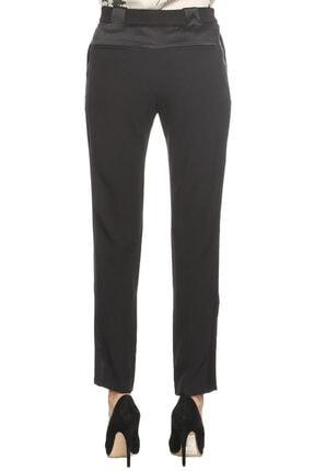 Prabal Gurung Kadın Siyah Klasik Pantolon 4
