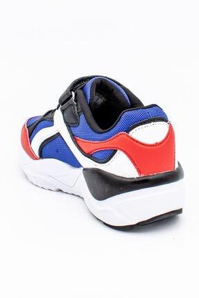 Lumberjack Mavi Kırmızı Çocuk Spor Ayakkabı 2
