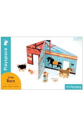 Mudpuppy , 3 Boyutlu Çocuk Oyun Maketi, Çiftlik In The Barn 4 Yaş Üstü 0