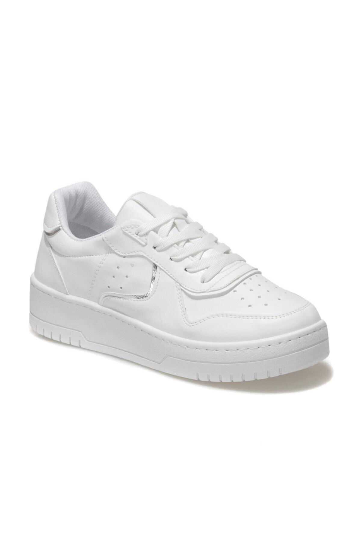 CS21009 1FX Beyaz Kadın Havuz Taban Sneaker 101014594